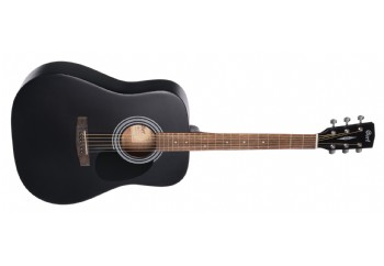 Cort AD810 BKS - Siyah Satin - Akustik Gitar