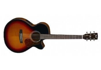 Cort L500F 3TS - Elektro Akustik Gitar