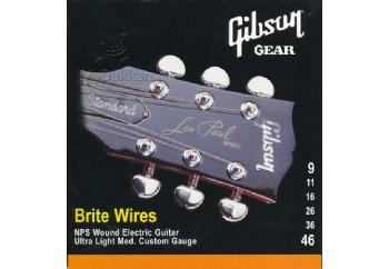 Gibson SEG-700ULMC Brite Wires Strings Takım Tel