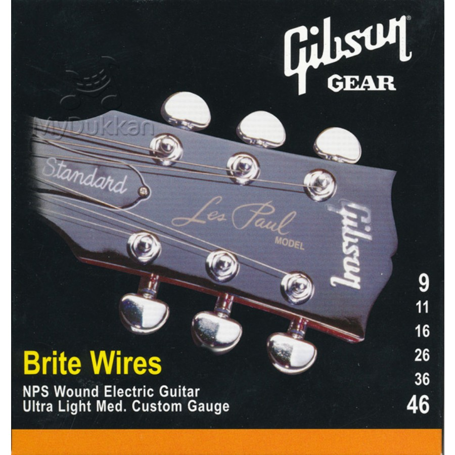 Gibson SEG-700ULMC Brite Wires Strings