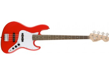 Squier Affinity Jazz Bass Race Red - Indian Laurel - Bas Gitar