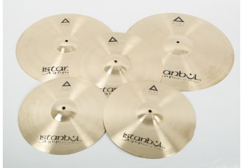 İstanbul Agop XIST Series 3-Pack Cymbal Set Brilliant (Parlak) - Zil Seti