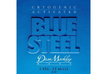 Dean Markley Blue Steel 2678 LT Takım Tel - 5 Telli Bas Gitar Teli 045-125