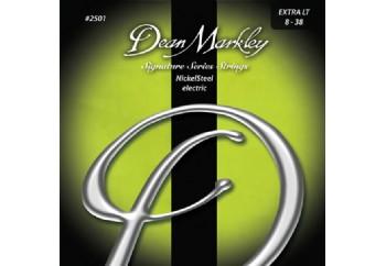 Dean Markley NickelSteel 2501 XL Takım Tel - Elektro Gitar Teli 008-038