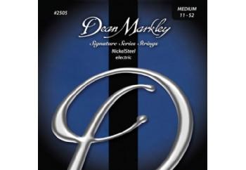 Dean Markley NickelSteel 2505 MED Takım Tel - Elektro Gitar Teli 011-052