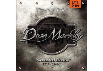 Dean Markley NickelSteel LT-7 2502C Takım Tel - 7 Telli Elektro Gitar Teli 009-054