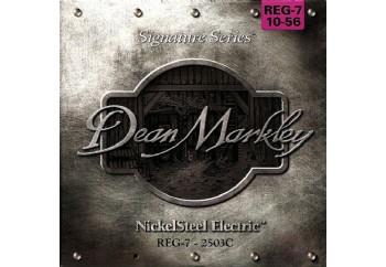 Dean Markley NickelSteel REG-7 2503C Takım Tel - 7 Telli Elektro Gitar Teli 010-056