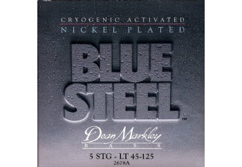 Dean Markley Blue Steel NPS 2678A Takım Tel - 5 Telli Bas Gitar Teli 045-125