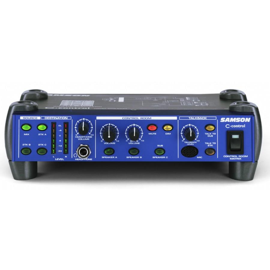 Samson C-control - Control Room Matrix