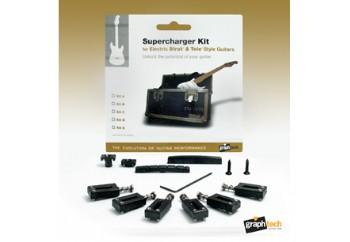 Graphtech Supercharger Strat and Tele Style Guitars Kit E PX-8001-00 - Donanım Seti