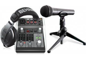 Behringer PODCASTUDIO 2 USB Podcast Package - Kayıt Seti