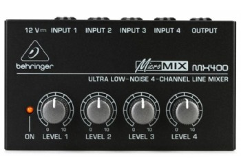 Behringer MICROMIX MX400 - Mikser