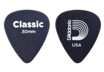 Planet Waves Classic Celluloid Black Celluloid Light .50mm - 1 Adet