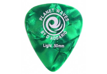 Planet Waves Classic Celluloid Green Pearl Light .50mm - 1 Adet