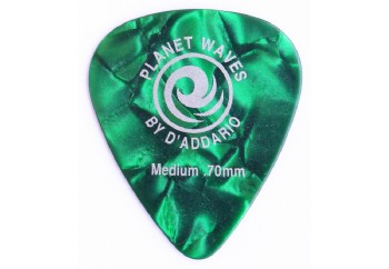 Planet Waves Classic Celluloid Green Pearl Medium .70mm - 1 Adet - Pena