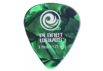 Planet Waves Classic Celluloid Green Pearl  X-Heavy 1.25mm - 1 Adet