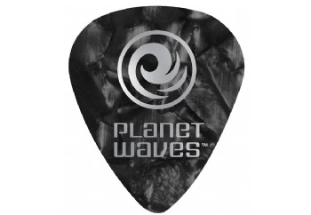Planet Waves Classic Celluloid Set 1CBKP4-100 - Siyah Sedef- 0.70mm - 100 Adet