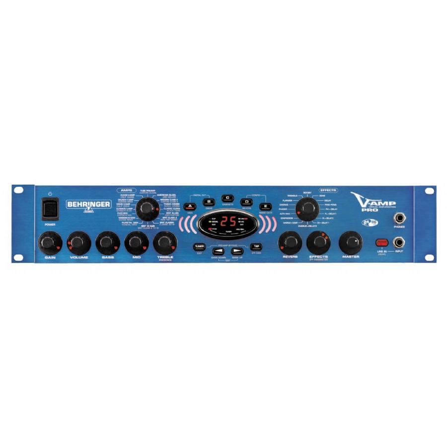 Behringer V-Amp Pro Guitar Amp Modeling Processor