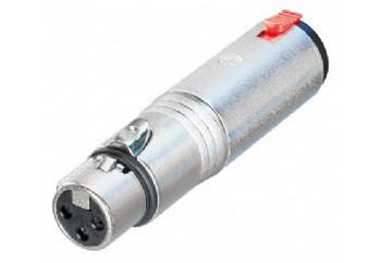 Neutrik NA3FJ - XLR (Erkek) - 6.35 mm. Stereo (Dişi)