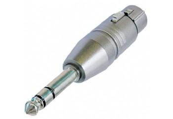 Neutrik NA3FP - XLR (Dişi) - 6.35 mm. Stereo (Erkek)