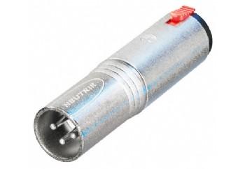 Neutrik NA3MJ - XLR (Erkek) - 6.35 mm. Stereo (Dişi)
