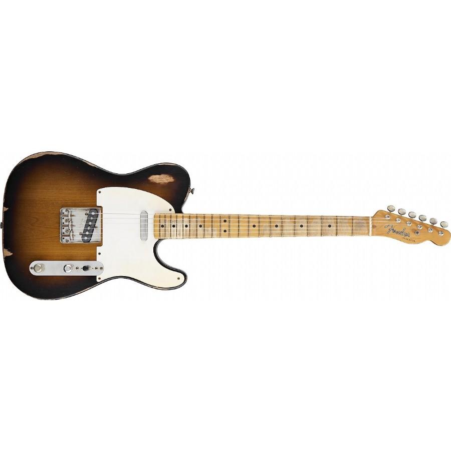 Fender Road Worn 50s Tele 2 Color Sunburst Maple Elektro Gitar