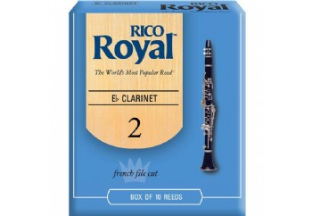 Rico Royal RBB Eb Clarinet 2 - Eb Klarnet Kamışı
