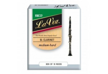 Rico Royal RCC La Voz Bb Clarinet Medium Hard