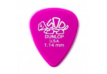 Jim Dunlop Delrin 500 Koyu pembe 1.14mm - 1 Adet - Pena