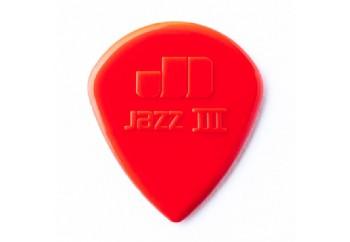 Jim Dunlop 47R Nylon Jazz I, II & III Jazz III Kırmızı - 1 Adet - Pena