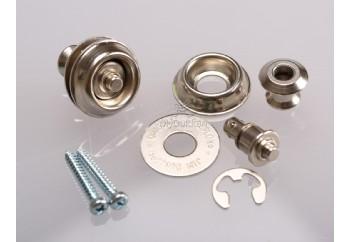 Jim Dunlop Dual Design Straploks Metalik - SLS1031N - Askı kilidi
