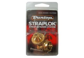 Jim Dunlop Dual Design Straploks Altın - SLS1034G - Askı kilidi