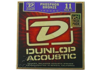 Jim Dunlop Ph. Bronze Medium Light DAP1152 Takım Tel - Akustik Gitar Teli 011-052