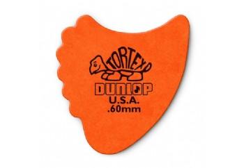 Jim Dunlop Tortex Fins 60 mm - Turuncu - 1 Adet - Pena