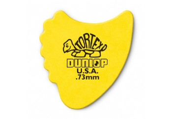 Jim Dunlop Tortex Fins 73 mm - Sarı - 1 Adet - Pena