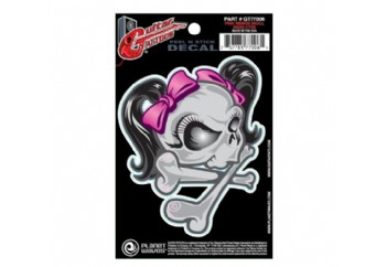 Planet Waves Ribbon Skull GT77006 - Gitar Sticker