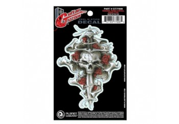 Planet Waves Dagger Rose Skull GT77008  - Gitar Sticker