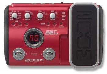 Zoom B2.1U Bass Guitar Multi Effects Pedal - Bas Prosesör