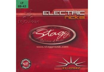 Stagg EL-0942 Takım Tel - Elektro Gitar Teli 009-042