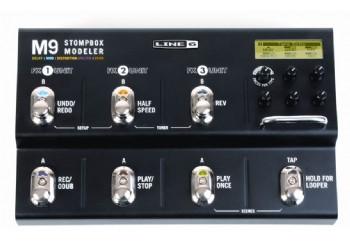 Line 6 M9 Stompbox Modeler - Gitar Prosesör