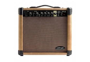 Stagg 20 AA R - Akustik Gitar Amfisi