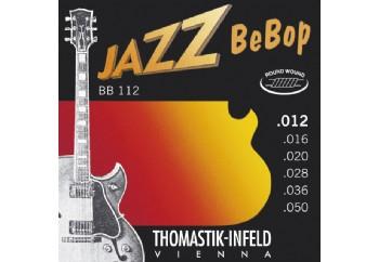 Thomastik BB112 Light Jazz BeBop Guitar Strings Takım Tel - Elektro Gitar Teli 012-050