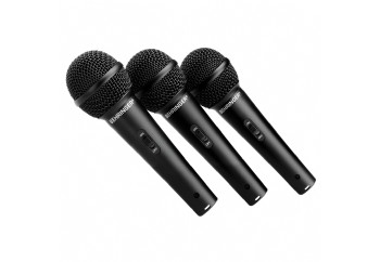 Behringer ULTRAVOICE XM1800S - 3'lü Dinamik Mikrofon Seti