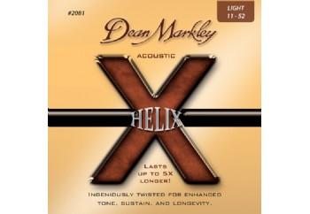 Dean Markley Helix HD Acoustic 2081 LT Takım Tel - Akustik Gitar Teli 011-052