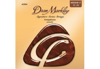 Dean Markley VintageBronze Acoustic 2004 ML Takım Tel - Akustik Gitar Teli 012-054