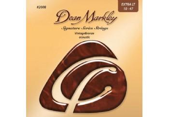 Dean Markley VintageBronze Acoustic 2008 XL Takım Tel - Akustik Gitar Teli 010-047