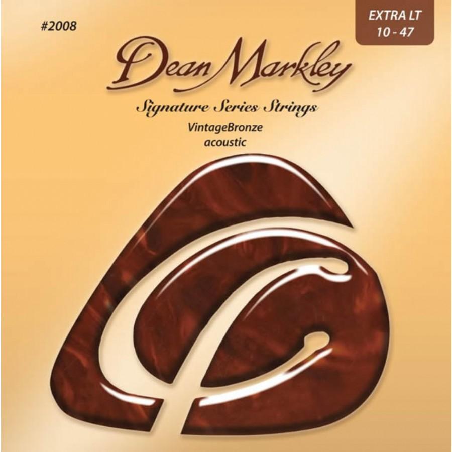 Dean Markley VintageBronze Acoustic 2008 XL