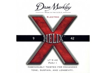 Dean Markley Helix HD NPS Electric 2511 LT  Takım Tel - Elektro Gitar Teli 009-042