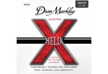 Dean Markley Helix HD NPS Electric 2516 MED Takım Tel - Elektro Gitar Teli 011-052